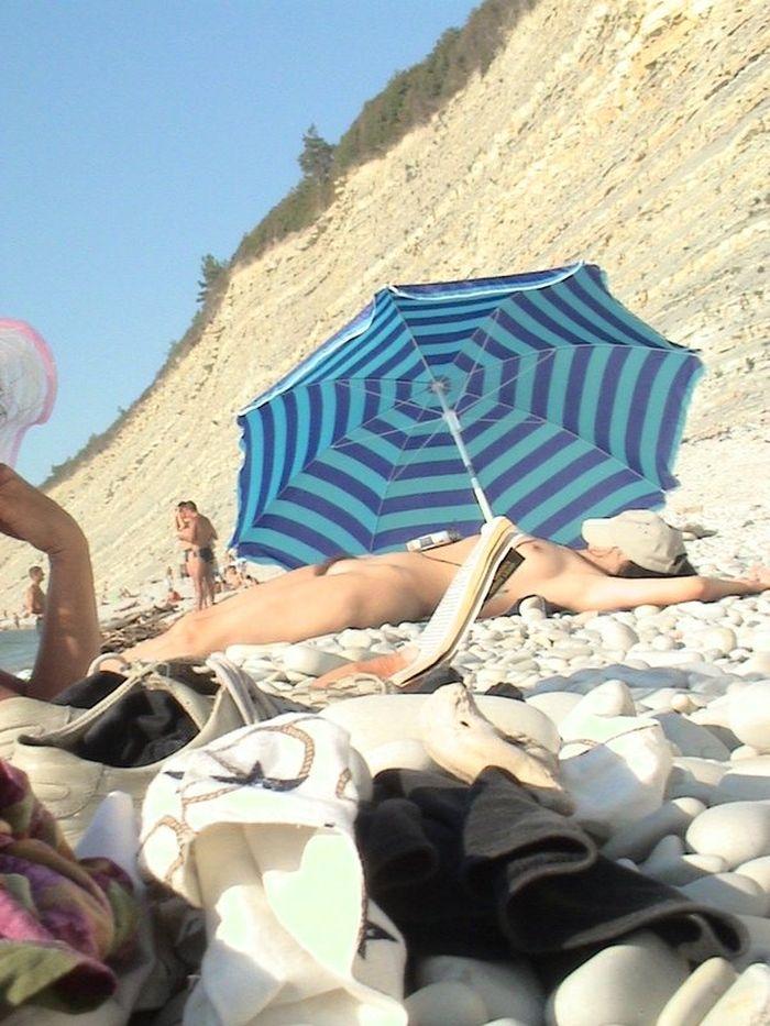 Фото нудистов на пляже