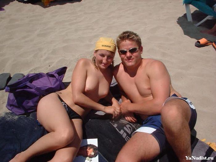 Фото нудистов под палящими лучами солнца