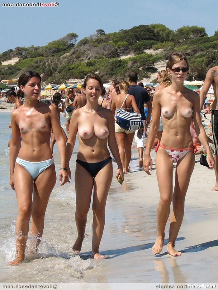 Пляж нудистов