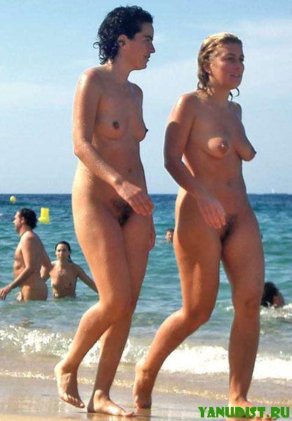 фото нуд пляж