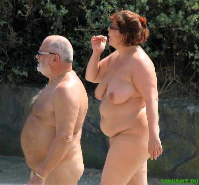 толстые голые нудисты фото