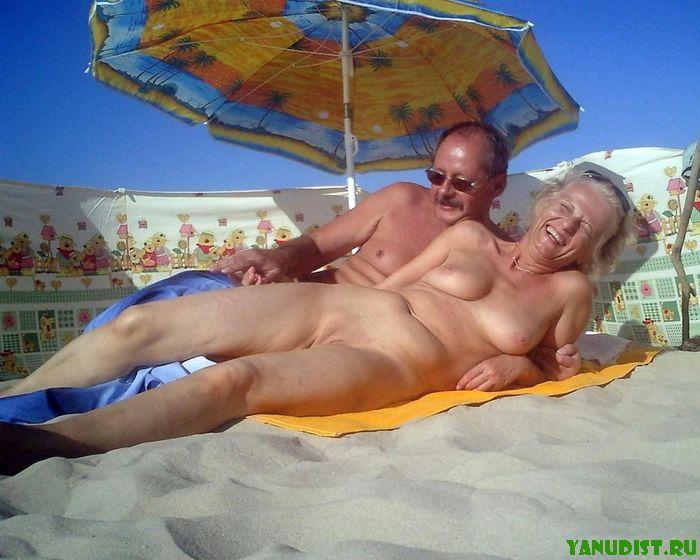 фото нудистов стариков