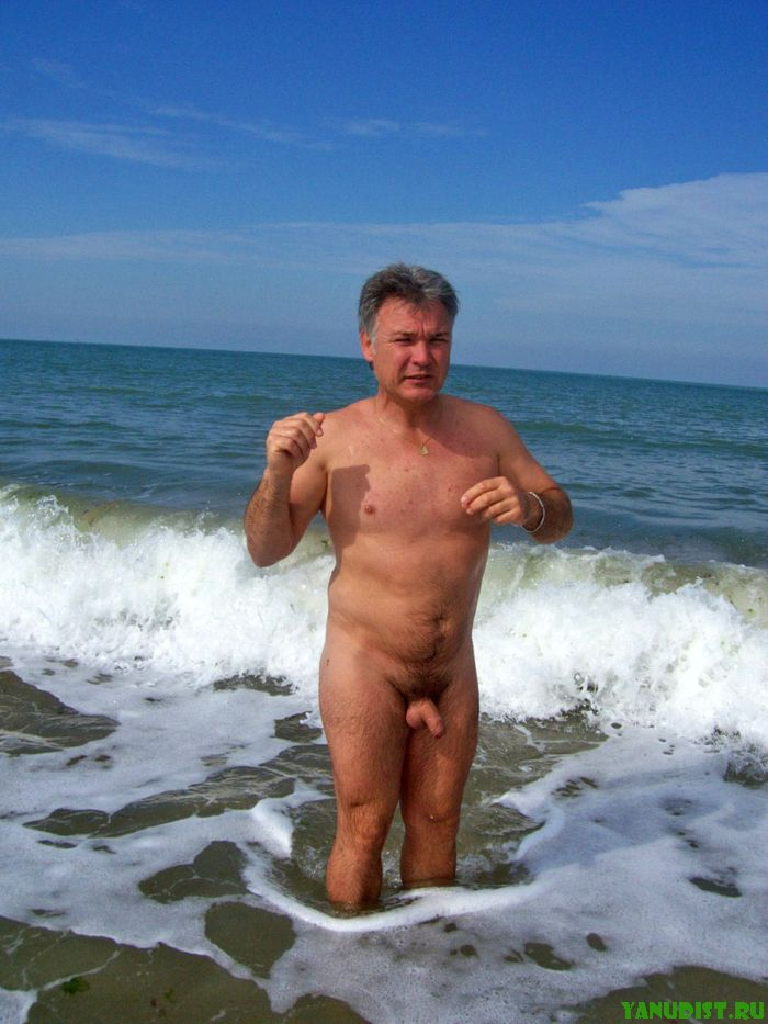 Обнаженные Зрелые Мужчины На Пляже Фото