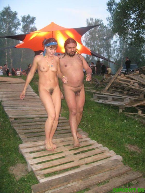 Частное фото нудистов