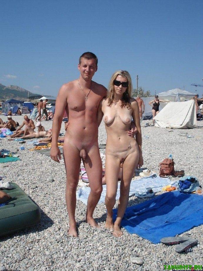 фото русских нудистов на море
