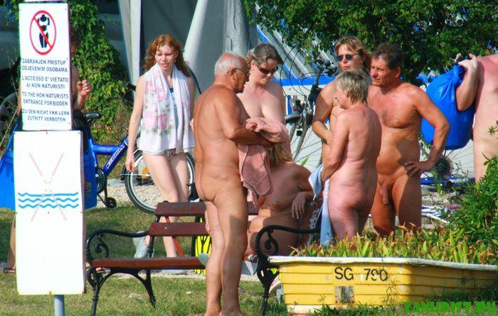 Зрелые писи нудисток снова показали себя