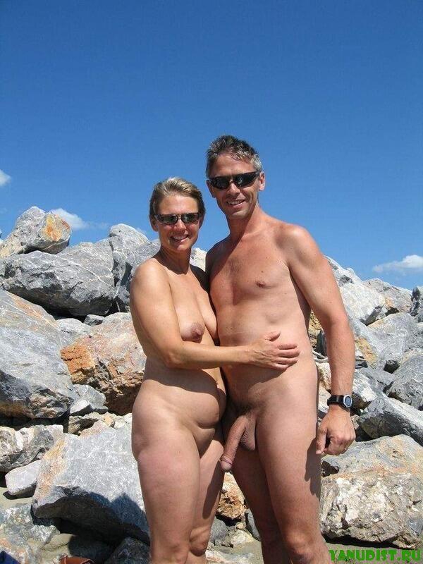 И снова романтика на нудистском пляже