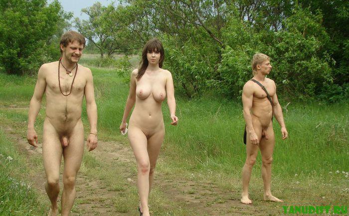 Фото голые семьи