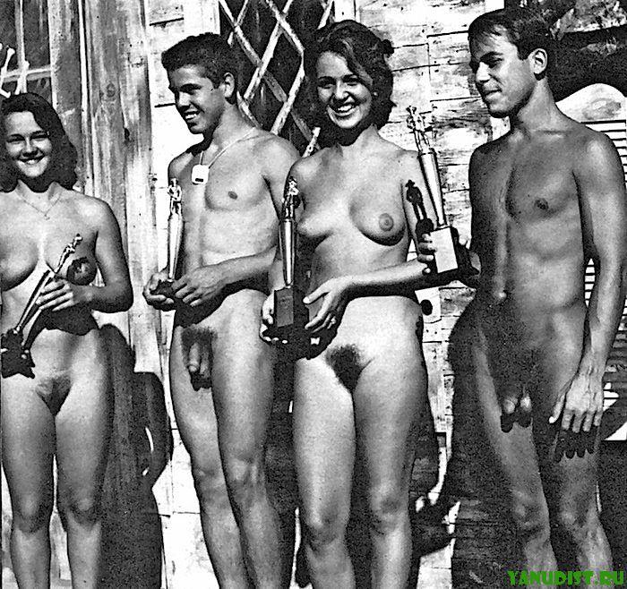 Фото, на миг возвращающее нас в далекое прошлое нудизма