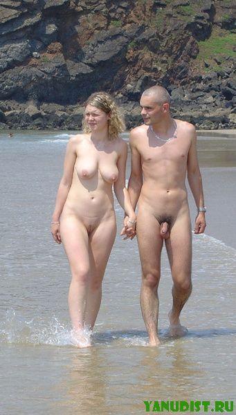 И снова нудисты и нудисточки подставили солнцу свои голые тела