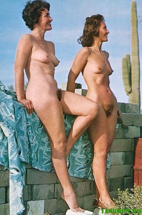 Нудисты ретро порно фото