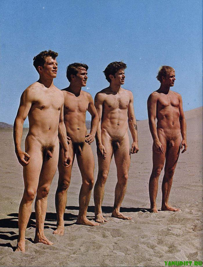 Красавцы нудисты покажут свои шикарные тела
