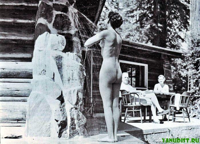 смотреть фото ретро нудистов