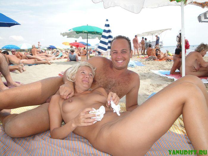 Отличный семейный отдых на нудистском пляже