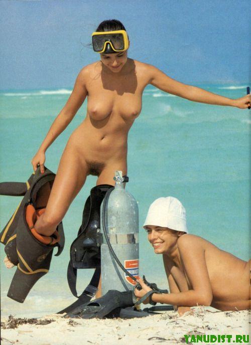 И снова прекрасный отдых на нудистском пляже
