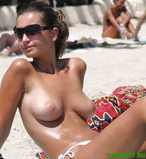 Новые и свежие ощущения на нудистском пляже