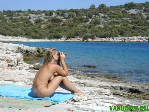 Нудистский пляж как он есть