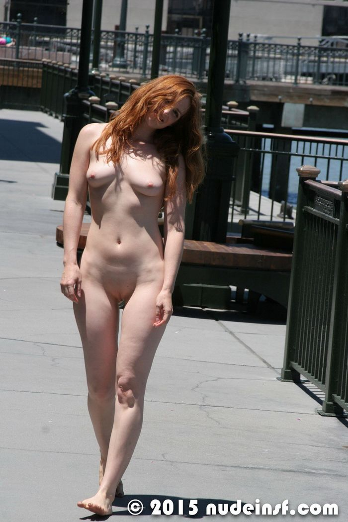 Shaved-Naked-Redhead-Amber-with-Small-Tits-13
