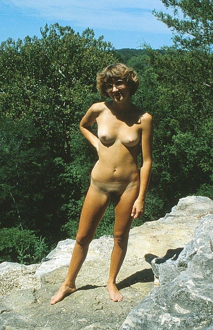 Ретро фото нудистов во всей красе